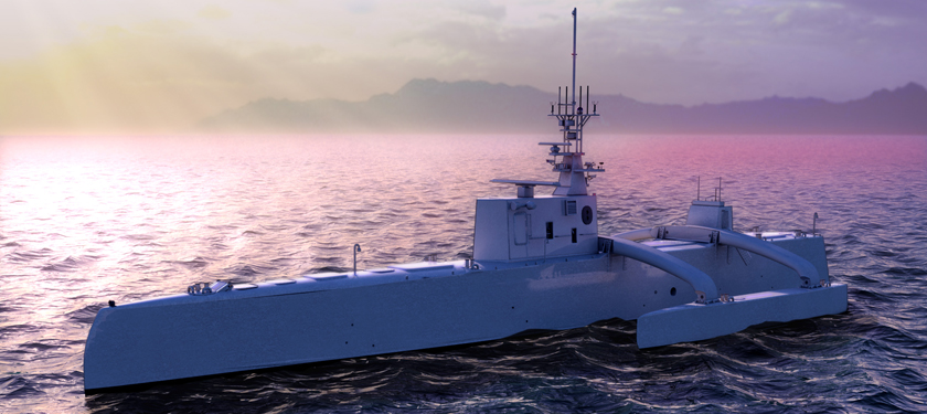 Anti-Submarine warfare continuous trail unmanned vehicle (ACTUV)