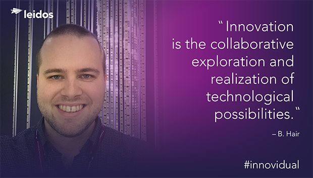 Ben Hair is the program lead for technology and strategic innovation for Leidos' IT services contract with NASA's Jet Propulsion Laboratory.
