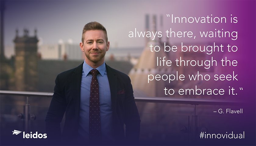 Gary Flavell is a project manager at Leidos.