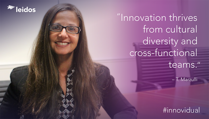 Toni Marzulli is the senior program manager for Leidos Australia's Centralised Processing Project Services.
