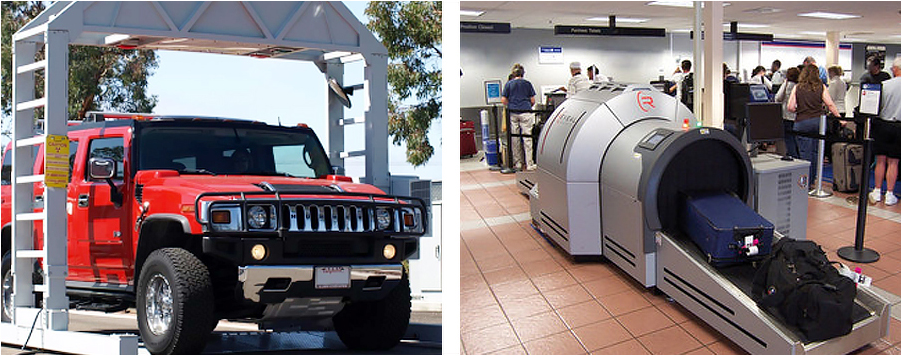 VACIS XPL and Reveal systems help ensure safe and secure air travel