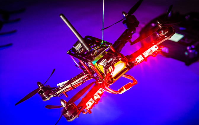 Learn more about the effect a drone can have on a jet engine