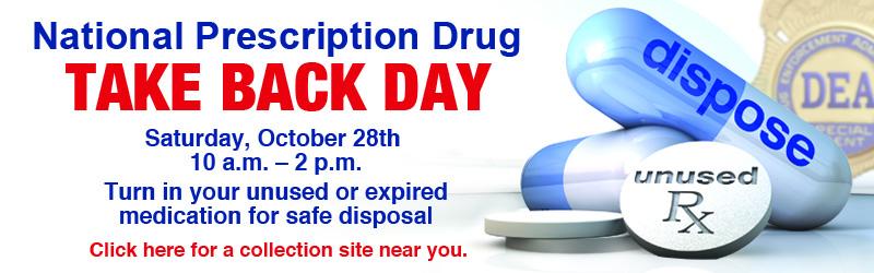National Prescription Takeback Day