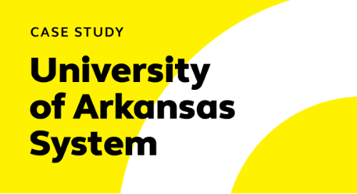 Customer success story: University of Arkansas