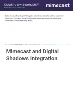 Mimecast and Digital Shadows Integration