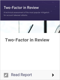 Two-Factor in Review