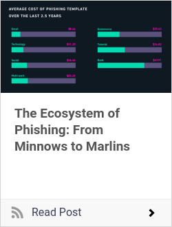 The Ecosystem of Phishing: From Minnows to Marlins