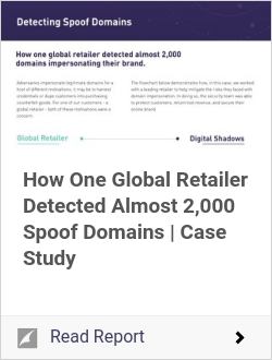 How One Global Retailer Detected Almost 2,000 Spoof Domains | Case Study