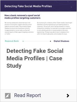 Detecting Fake Social Media Profiles | Case Study