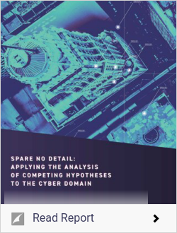 Applying the Analysis of Competing Hypotheses to the Cyber Domain