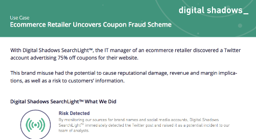 Ecommerce Retailer Uncovers Coupon Fraud Scheme