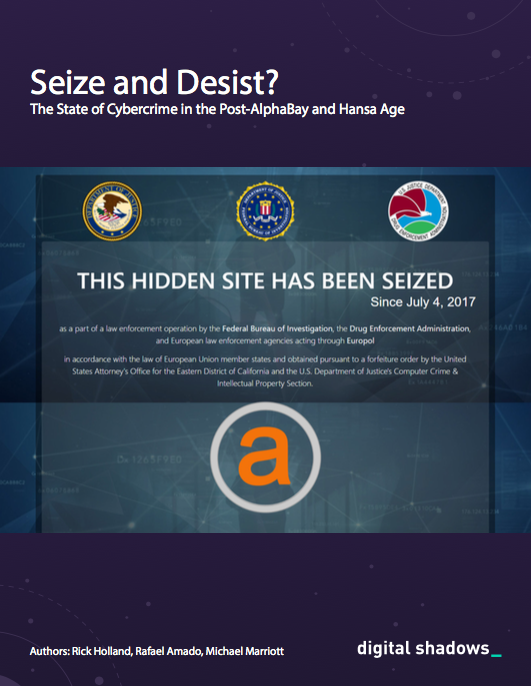 The State of Cybercrime in the Post-AlphaBay and Hansa Age