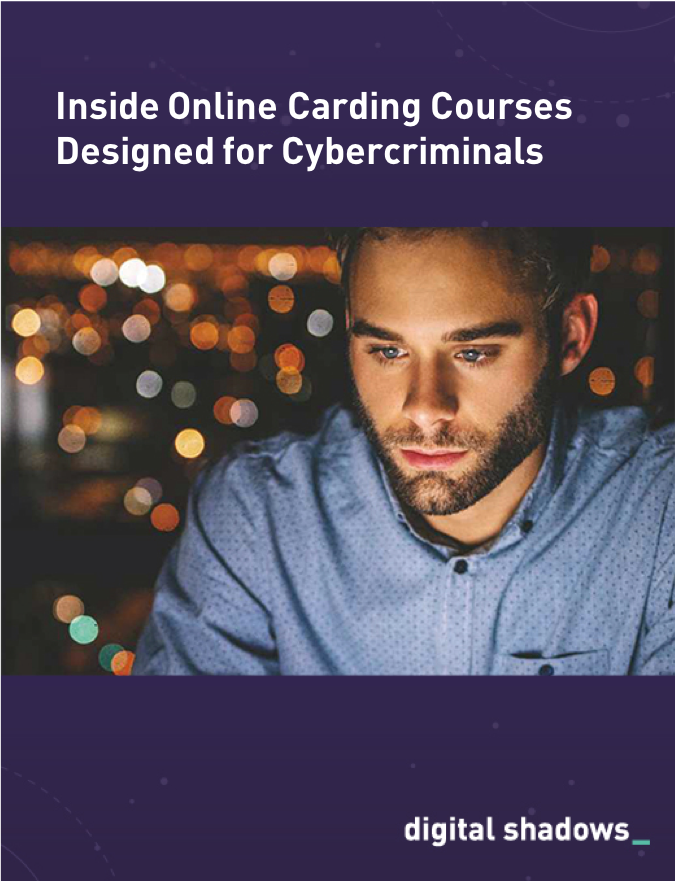 Inside Online Carding Courses Designed for Cybercriminals