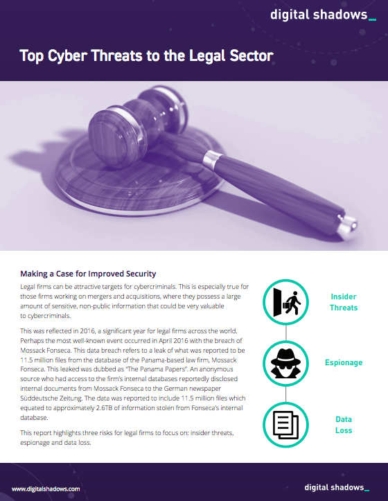 Top Cyber Threats to the Legal Sector