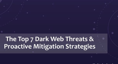 Top 7 Threats from the Dark Web