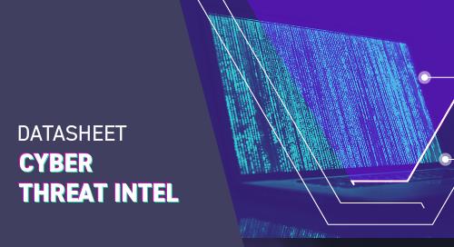 Threat Intelligence Datasheet