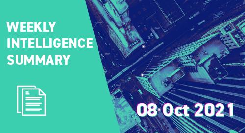 Weekly Intelligence Summary 8th Oct