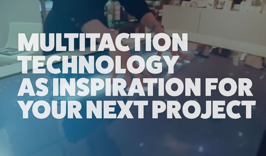 5 awesome examples of MultiTaction technology