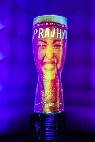 Pravha Beer Launch Projection Mapping