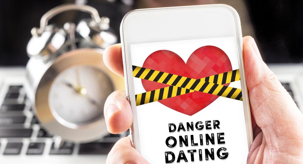 オンラインのデートは危険です