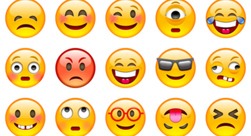 palette d'emoji