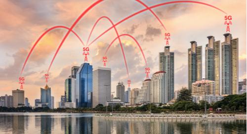 concept du réseau 5G
