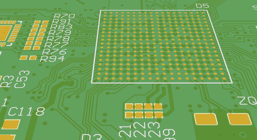 image d'écran sérigraphique de circuit imprimé
