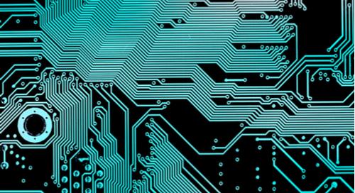 Routage des pistes d'une carte-mère d'ordinateur