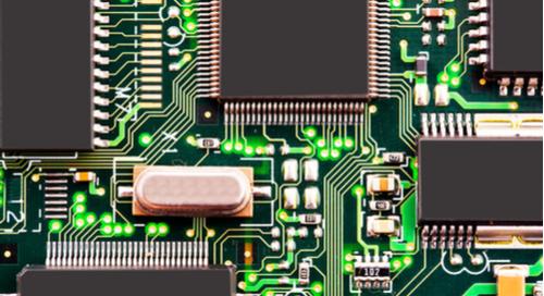 Circuits d'une carte mère d'ordinateur