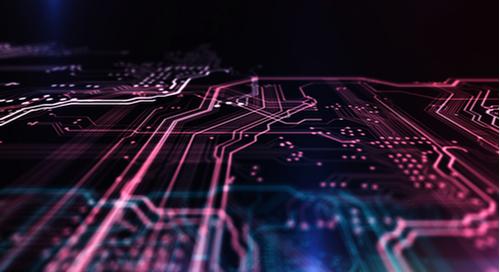 多層PCB設計の3D画像