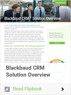 Blackbaud CRM Solution Overview