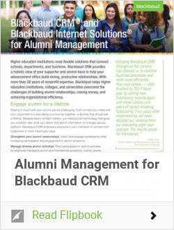 Alumni Management for Blackbaud CRM