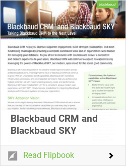 CRM and Blackbaud SKY