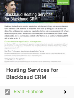 Hosting Services for Blackbaud CRM