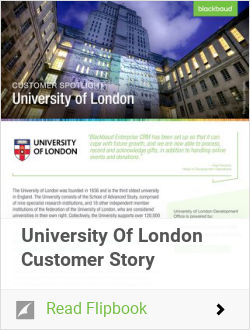 University Of London Customer Story