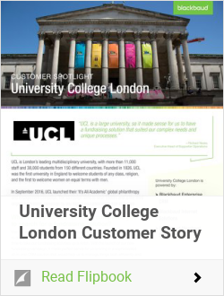University College London Customer Story