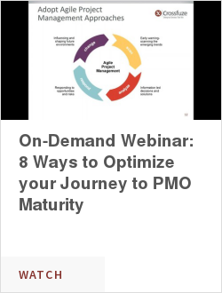 On-Demand Webinar: 8 Ways to Optimize your Journey to PMO Maturity