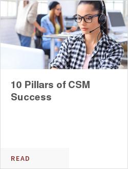 10 Pillars of CSM Success