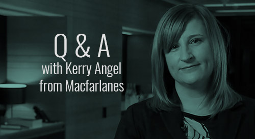 Q&A with Kerry Angel from Macfarlanes
