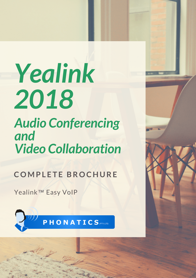 Yealink Audio & VC 2018 [Flipbook]