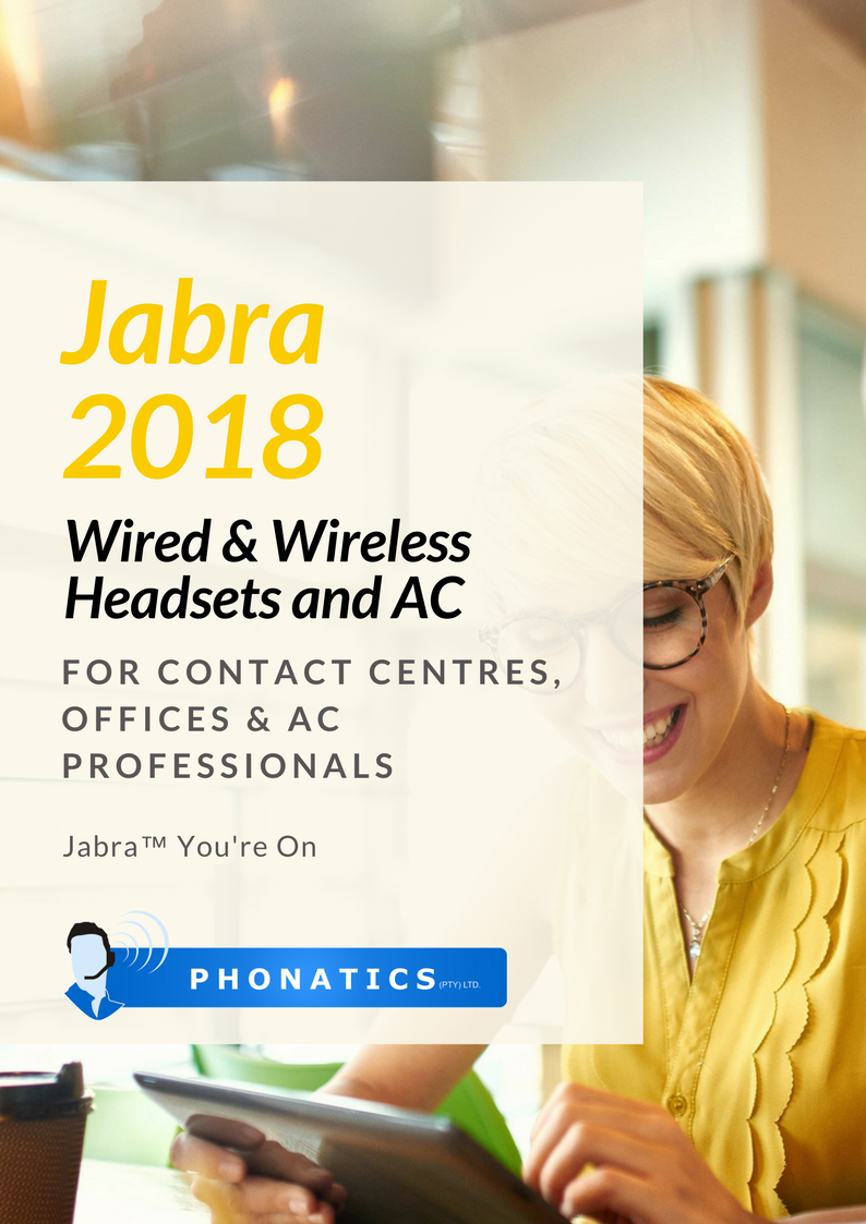 Jabra Headsets & AC 2018 [Flipbook]