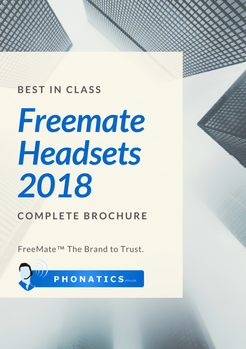 Freemate Headsets 2018 [Flipbook]
