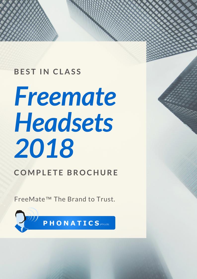 Freemate Headsets 2018 [Flipbook]