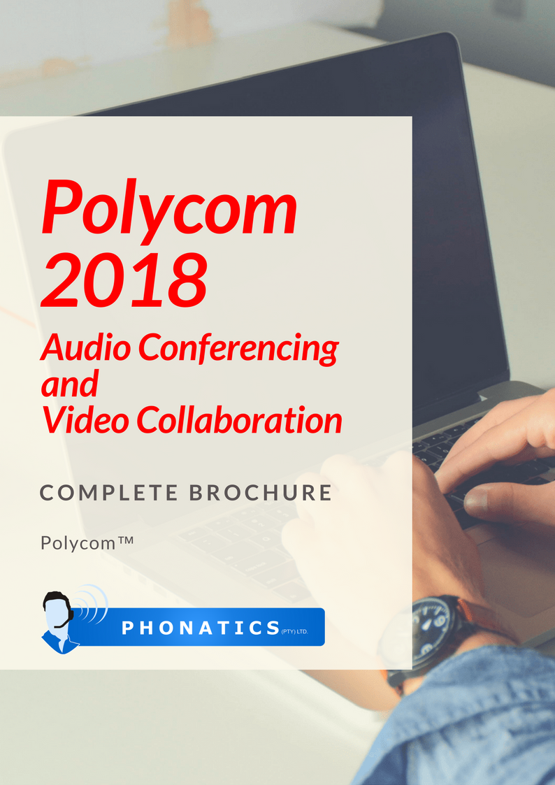 Polycom 2018 VC & Audio [Flipbook]