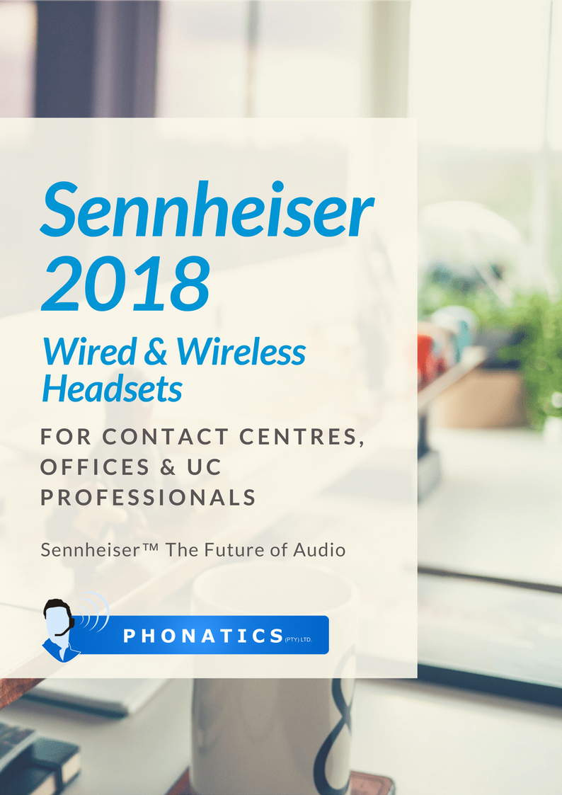 Sennheiser Headsets 2018 [Flipbook]