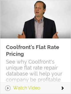 Coolfront's Flat Rate Pricing
