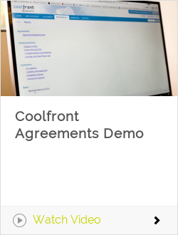 Coolfront Agreements Demo