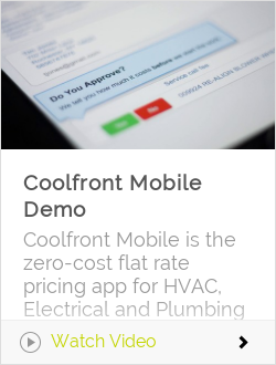 Coolfront Mobile Demo