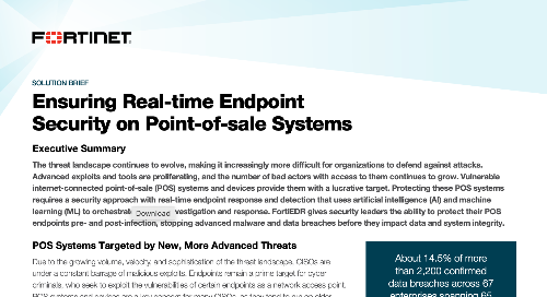 Ensuring Real-time Endpoint Security on Point-of-sale Systems