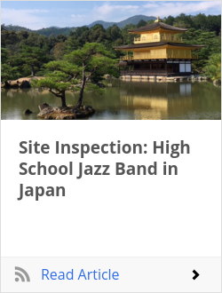 Site Inspection: High School Jazz Band in Japan